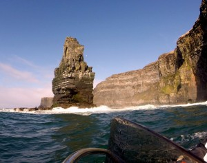 Filming Cliffs of Moher on Valdariya
